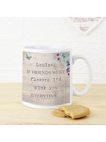 Personalised Forget me not Mug