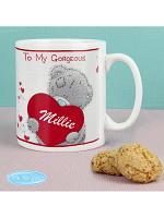 Personalised Me to You Big Heart Mug