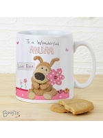 Personalised Boofle Flowers Mothers Day Mug