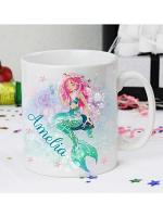 Personalised Mermaid Mug