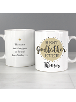 Personalised Best Godfather Mug