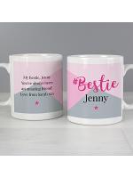 Personalised #Bestie Mug