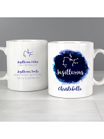 Personalised Sagittarius Zodiac Star Sign Mug (November 22nd - December 21st)