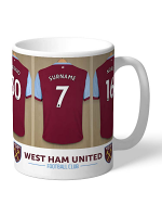 West Ham United FC Dressing Room Mug