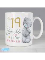 Personalised Me To You Sparkle & Shine Birthday Mug