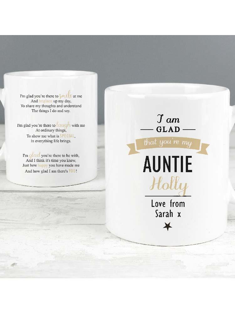 Personalised I Am Glad... Mug