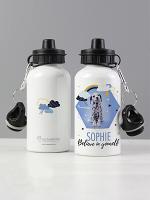 Personalised Rachael Hale Dalmatian Drinks Bottle