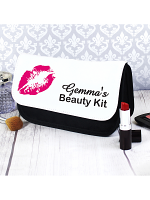 Personalised Lips Make Up Bag