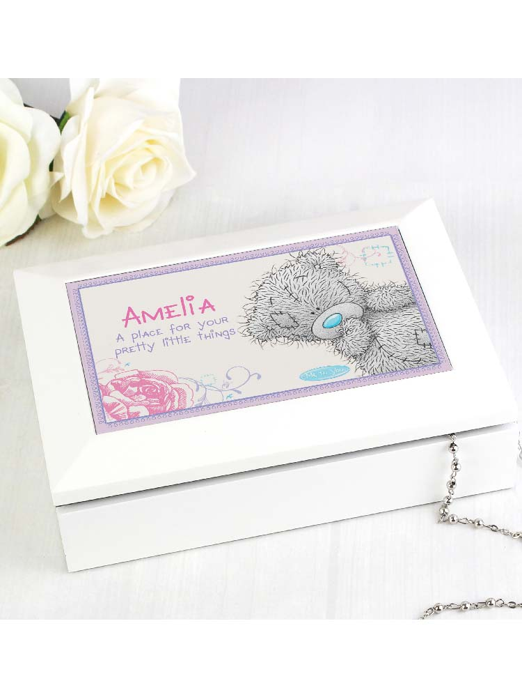 Personalised Me To You Girls Jewellery Box