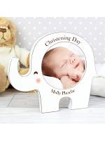 Personalised Elephant Baby Photo Frame