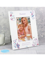 "Personalised Tiny Tatty Teddy Unicorn 6""x4"" Photo Frame"