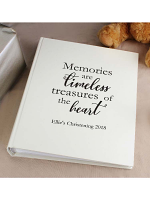 Personalised 'Memories are Timeless' Traditional Album
