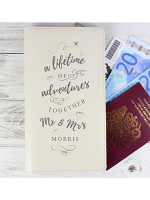 Personalised A Lifetime Of... Travel Document Holder