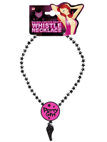PARTY GIRL WHISTLE NECKLACE