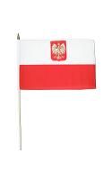 Poland Hand Waving Flag