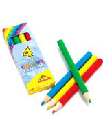 Pencil Col Half Size 4 PCS In Box
