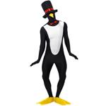 Penguin Second Skin Costume ,Black