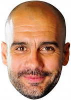 Pep Guardiola Mask
