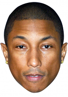 Pharrell Williams Mask