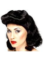 Pin Up Girl Wig - Click for Colours