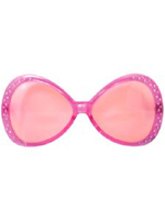 Pink Diamonte Glasses