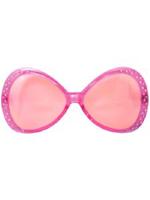 Pink Diamonte Glasses