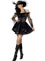 Pirate Fever Sexy Swashbuckler Costume (12345)