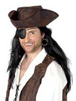 Pirate Eyepatch & Earring - Carded