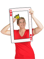 Playing Card Photo Fun Frame