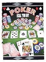 Poker Invitations - 8/pkg