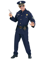 Policeman Heavy Fabric Costume