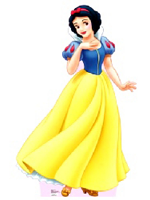 Snow White Cardboard Cutout