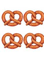 Pretzel Cutout - Pack of 4