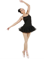 Prima Ballerina - Black Ladies (Tutu Dress)