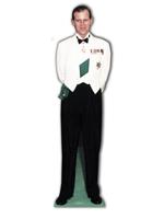 Prince Philip 1956 Lifesize Cardboard Cutout
