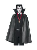 Pvc Vampire Cape - Black