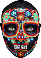 Day of the dead 2 mask