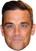 Robbie Williams Mask