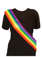 Rainbow Sash *only 4 left n stock *