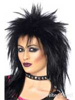 Rock Diva Wig Spikey