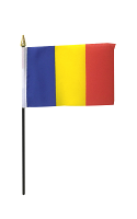 Romania Hand Waving Flag