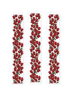 Roses Party Panel Decoration