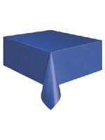 Royal Blue Plastic Tablecloth - 137cm x 274cm
