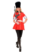 Royal Guard Girl Costume
