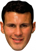 Ryan Giggs Young Mask