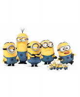 Minions Group Pose Mischevious Cardboard Cutout