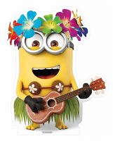 Hawaiian Guitar Dave Minion Star-Mini Cutout