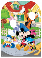 Mickey Mouse and Friends Stand-In Child Sized - Cardboard Cutout