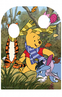 Winnie the Pooh Hundred Acre Wood With Friends Stand-in Child Sized