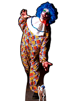 It is a Very Scary male Clown